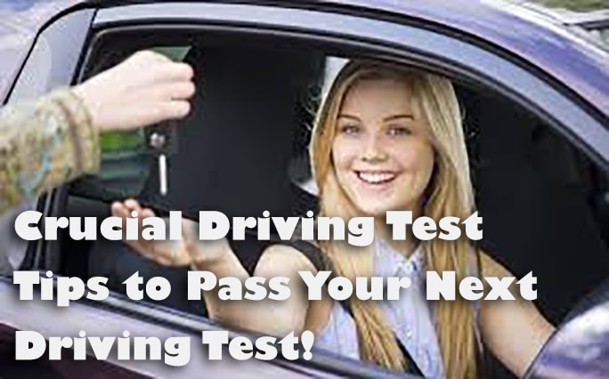 8 Crucial Driving Test Tips to Pass Your Next Driving Test!
