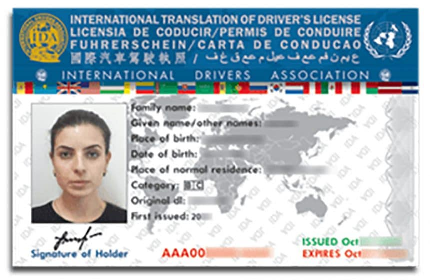 Driving On An International Drivers Licence In NSW Australia